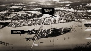 Renmark Floods 1956 - courtesy of the Adelaide Advertiser.