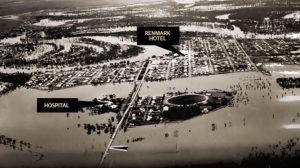 Renmark Floods 1956 - courtesy of the Adelaide Advertiser.
